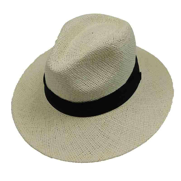 Woven Toyo Safari Style Hat with Black Band by Sun Styles
