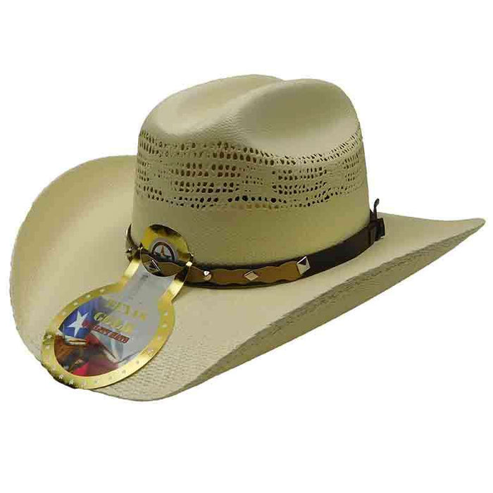 Tejano Bangora Junior Cattlemen Hat - Texas Gold Hats