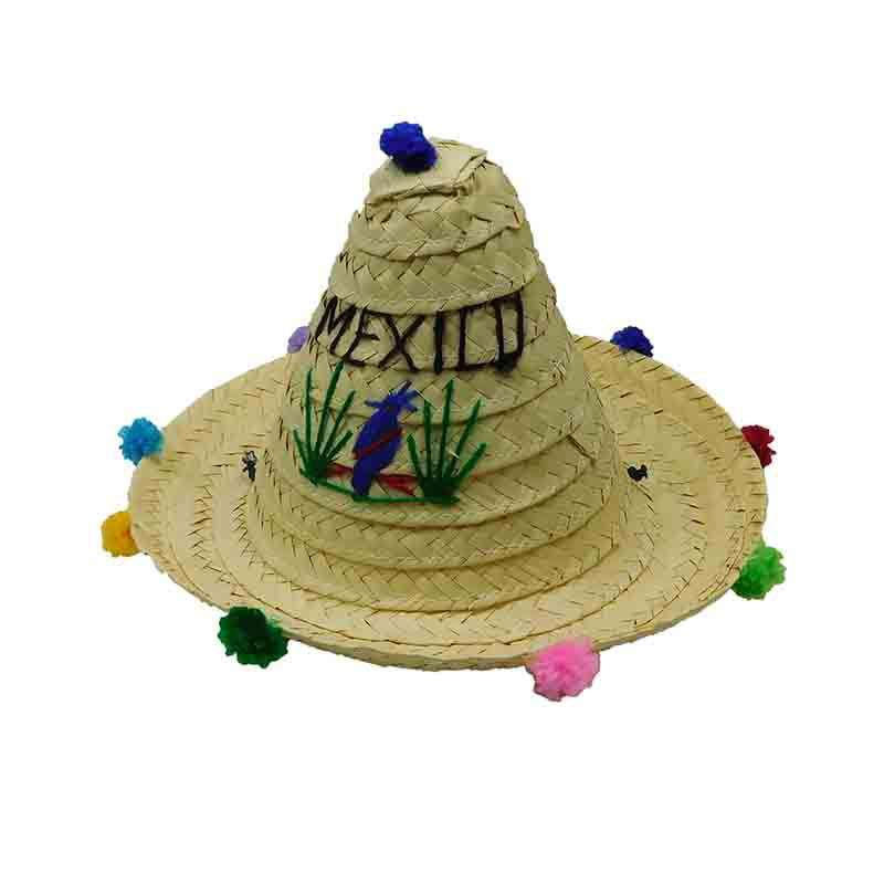 Toddler Sombrero Hat with Chin Cord - Texas Gold Hats