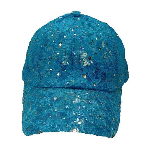 Razzle Dazzle Sequin Lace Fashion Baseball Cap - CapSmith