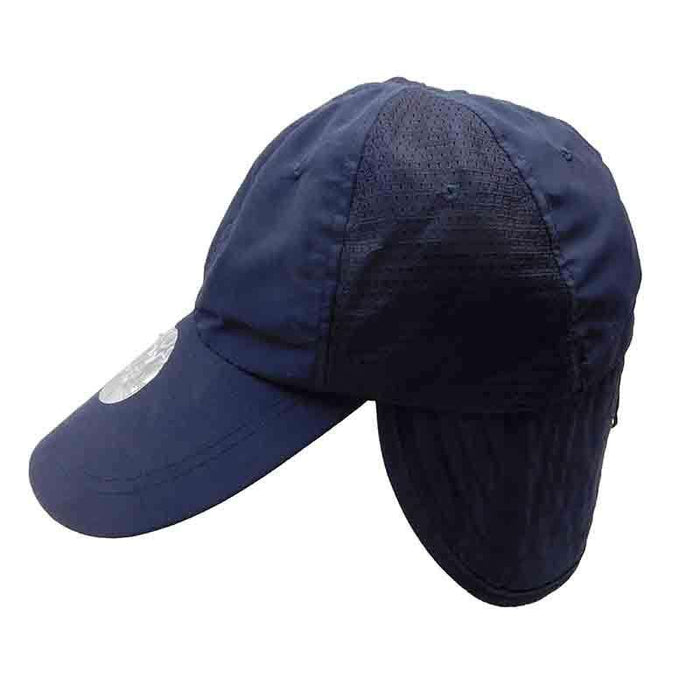 Fishing Cap with Neck Cape and Shirt Clip