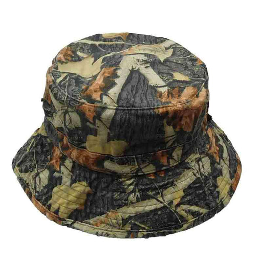 Hunting Camp Camo Jungle Bucket Hat