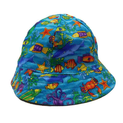Fingerlings Infant Cotton Bucket Hat - Scala Hats for Kids