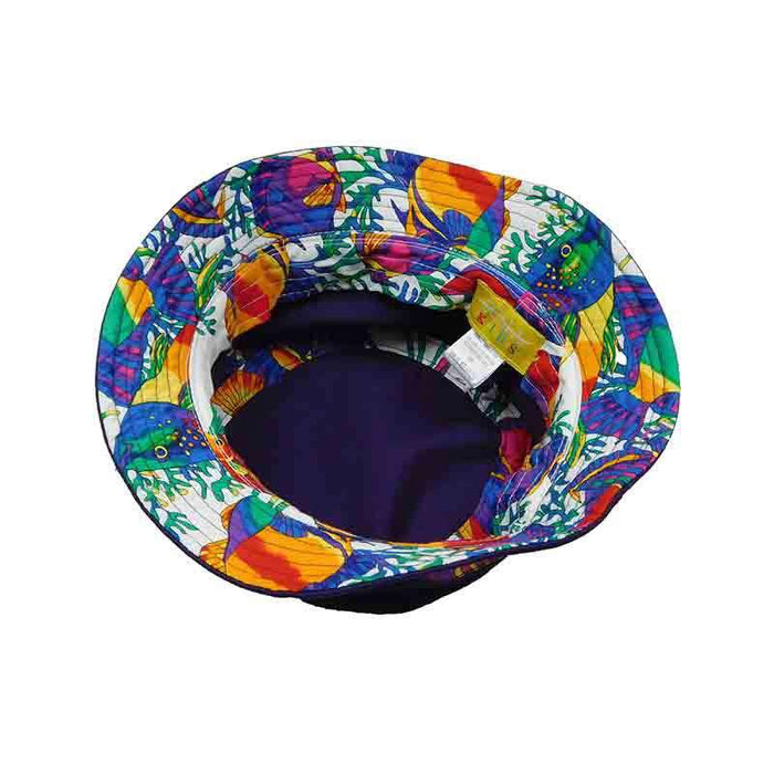 Pufferfish Cotton Bucket Hat - Scala Hats for Kids