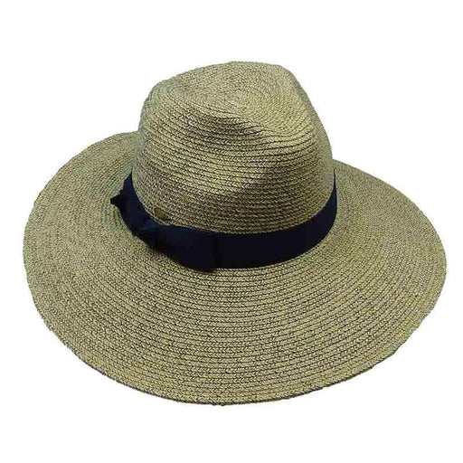 Rhossili - Large Brim Heather Safari Hat by Scala