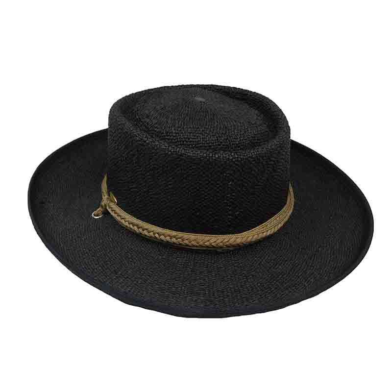 Bangkok Toyo Gaucho Hat with Tassle Tie - Scala - SetarTrading Hats