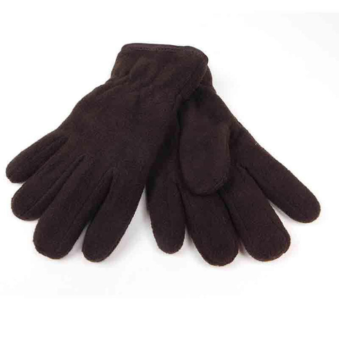 Mens Thermal Insulated Fleece Gloves