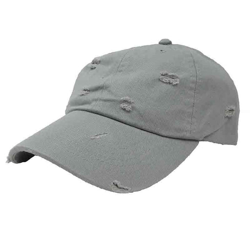 Low Profile Distressed Cotton Cap