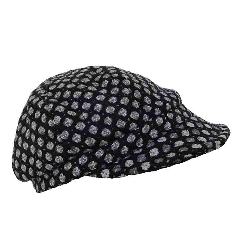 Dotted Newsboy Cap by JSA - SetarTrading Hats