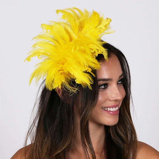 Feather Burst Fascinator - SetarTrading Hats