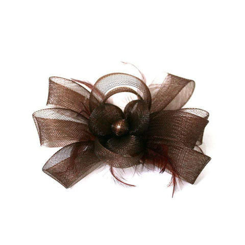 Bead Center Fascinator-Brooch