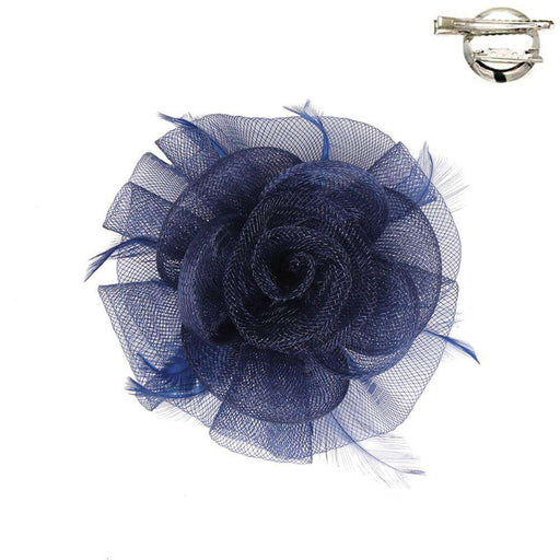 Flower Fascinator-Brooch Clip - SetarTrading Hats