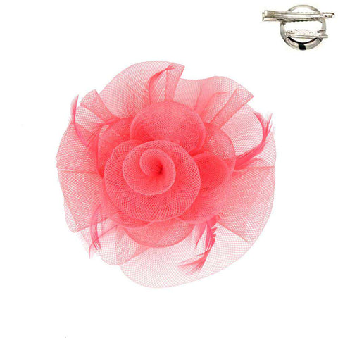 Flower Fascinator-Brooch Clip