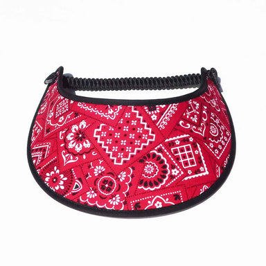 Fabric Foam Sun Visor with Miracle Coil Lace - Bandana Collection