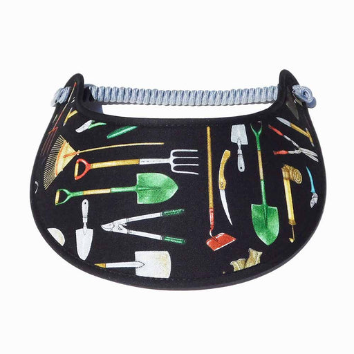Fabric Foam Sun Visor with Miracle Coil Lace - Gardening Tools