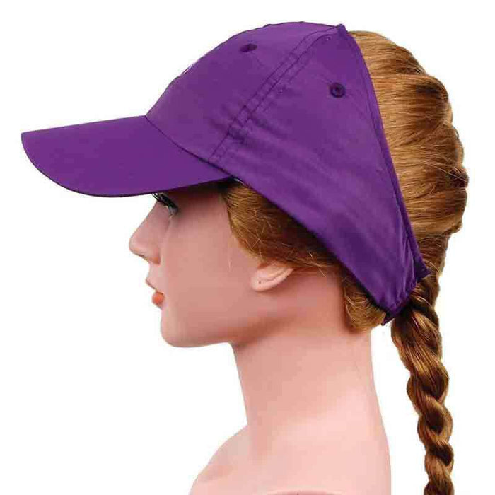 Ginnie Cap in Microfiber with Tennis Logo