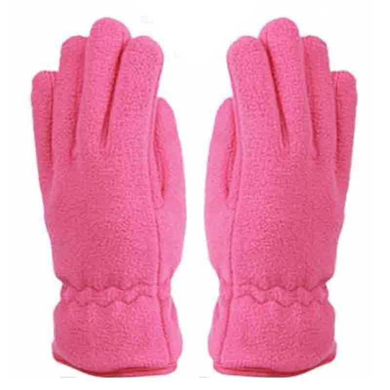 Ladies Thermal Insulated Fleece Gloves