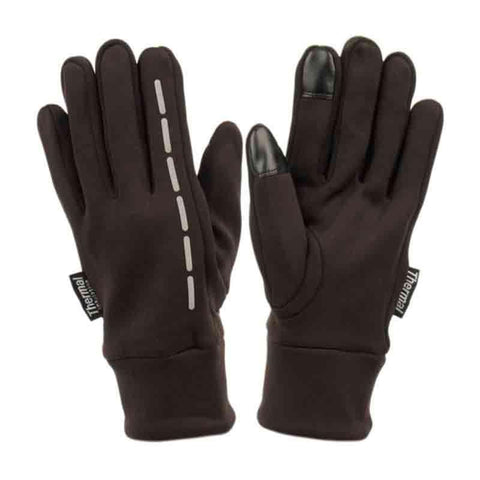 Ladies Stretch Woven Touch Screen Gloves