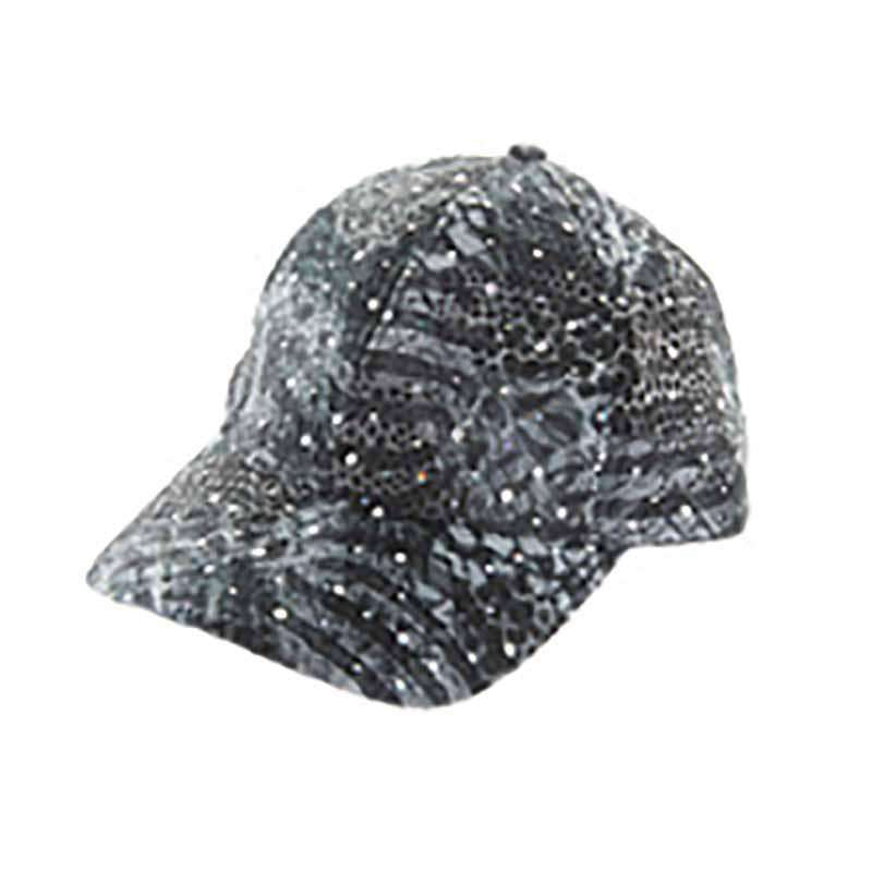 Multi Tone Glitter Baseball Cap - Available in 5 Colors