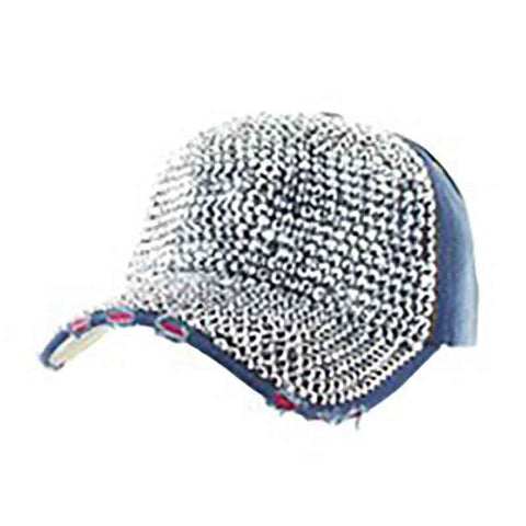Studded Denim Baseball Cap