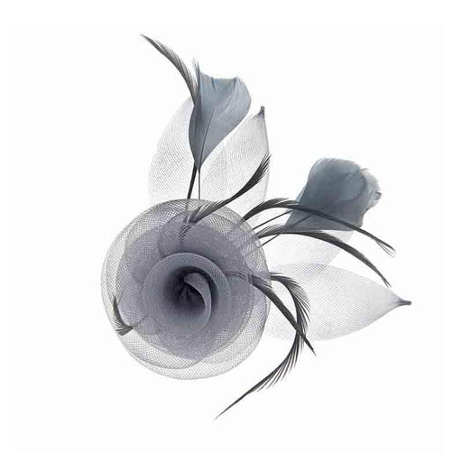 Small Rose Fascinator-Brooch