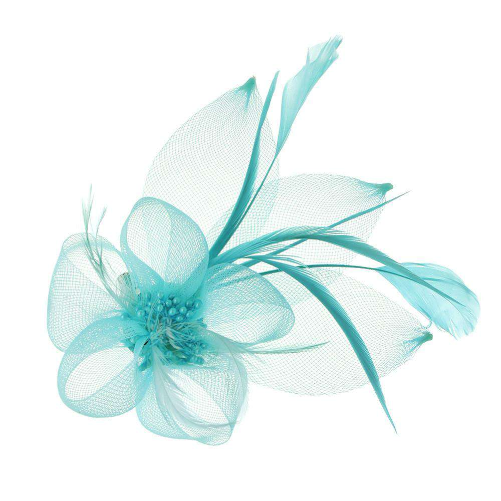 Flower and Leaves Brooch - SetarTrading Hats