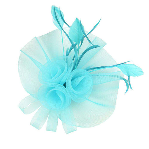 Triple Mesh Flower Fascinator - SetarTrading Hats