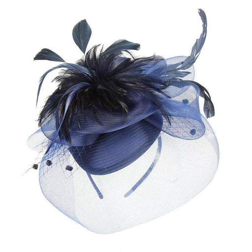 Mesh Veil Fascinator - Sophia Collection