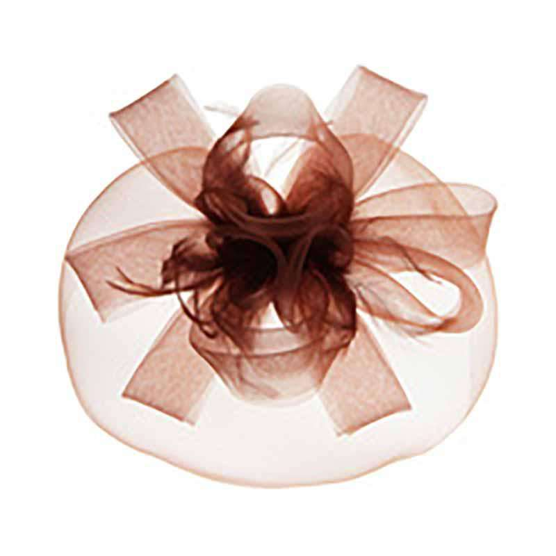 Loopy Petals and Bows Fascinator
