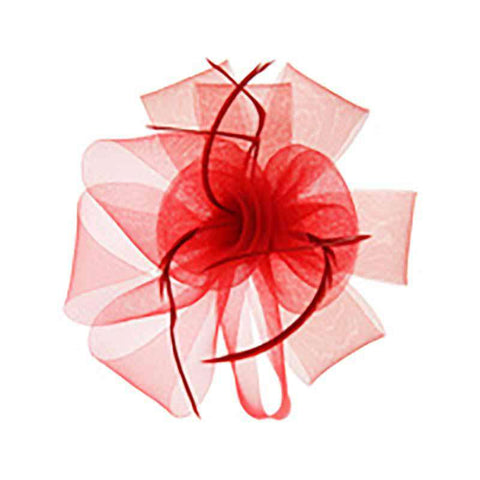 Loopy Mesh Lilies Fascinator