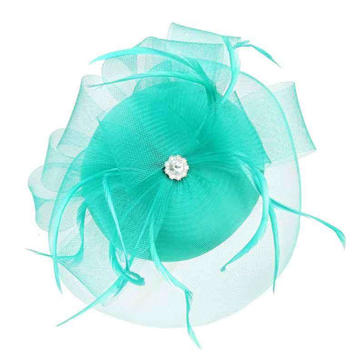 Jewel Accent Small Pill Box Fascinator