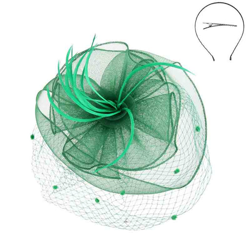 Dotted Netting Veil Fascinator