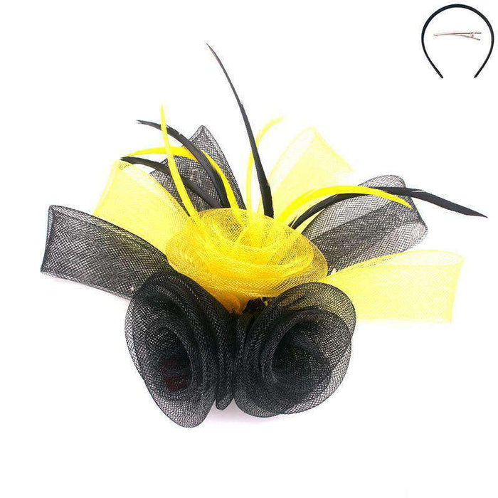 Calla Lily Two Tone Fascinator - Sophia Collection - SetarTrading Hats