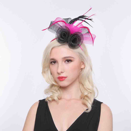 Calla Lily Two Tone Fascinator - Sophia Collection