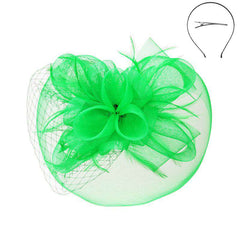 Fascinator with Loopy Mesh Center - Sophia Collection