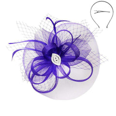 Gem Center Medium Fascinator - Sophia Collection