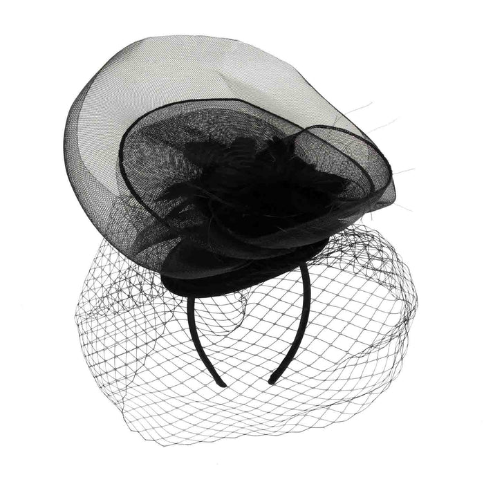 Layered Mesh Netting Veil Fascinator - Something Special