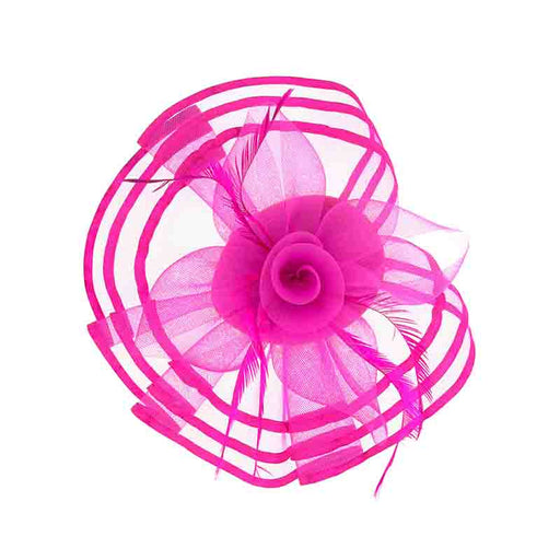 Large Mesh Fascinator with Ribbon Trim - Something Special