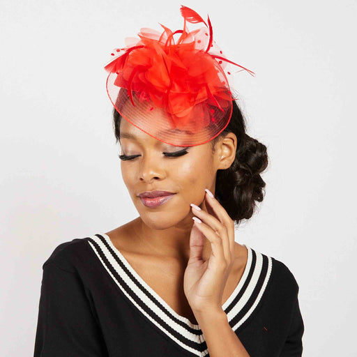 Pillbox Fascinator Cocktail Hat - Something Special