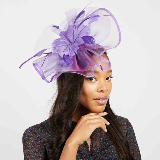 Feather Flower Center Fascinator Headband - Something Special
