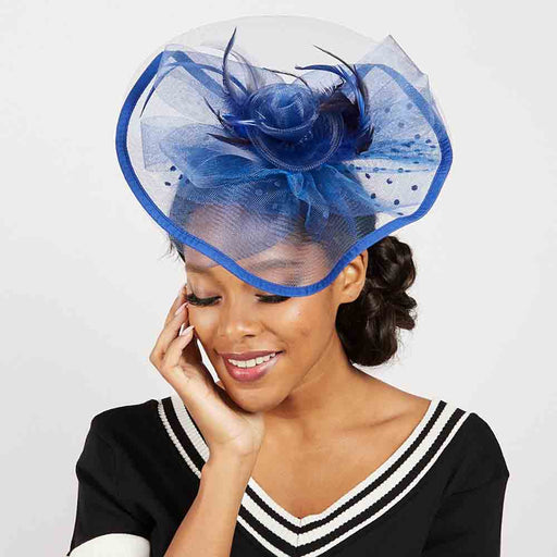 Layered Polka Dot Tulle Fascinator - Sophia Collection