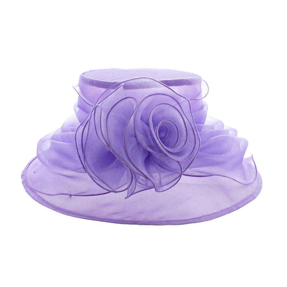Crushable Flower Organza - SetarTrading Hats