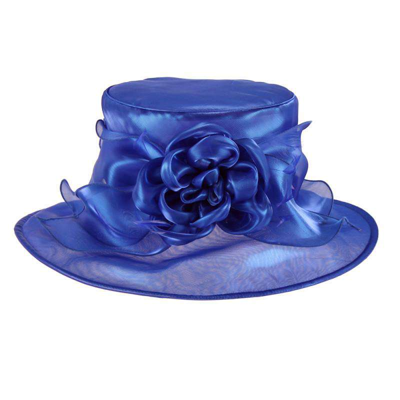 Crushable Shimmer Organza Hat - SetarTrading Hats