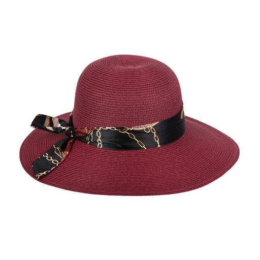 Summer Floppy Hat with Satin Tie - SetarTrading Hats