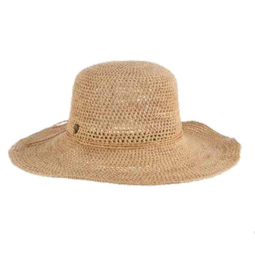 Willingile Hand Crocheted Raffia Straw Floppy Hat - Tommy Bahama