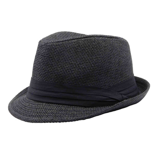 Small Heads Straw Summer Trilby by Milani Hats