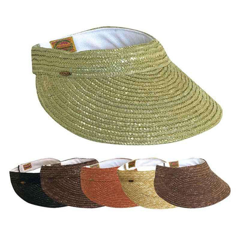 Braided Laichow Sun Visor - Neutral-Basic Colors