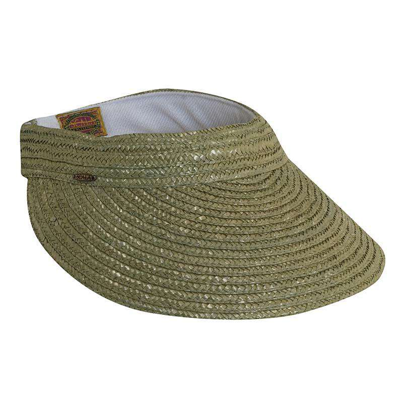 Braided Laichow Sun Visor - Neutral-Basic Colors - SetarTrading Hats