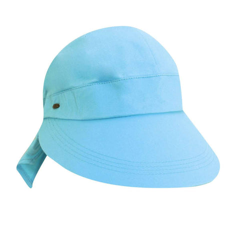 Scala Cotton Facesaver Cap with Bow