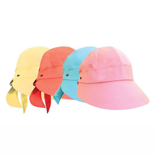 Cotton Facesaver Cap with Bow - Scala Collection Hats
